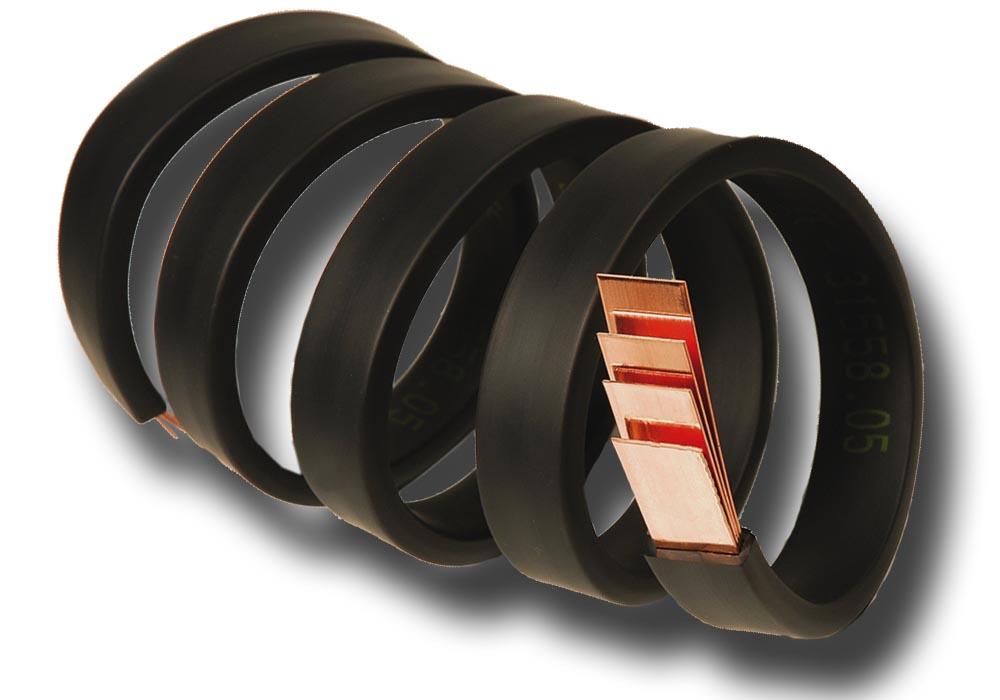 изолированные гибкие медные шины